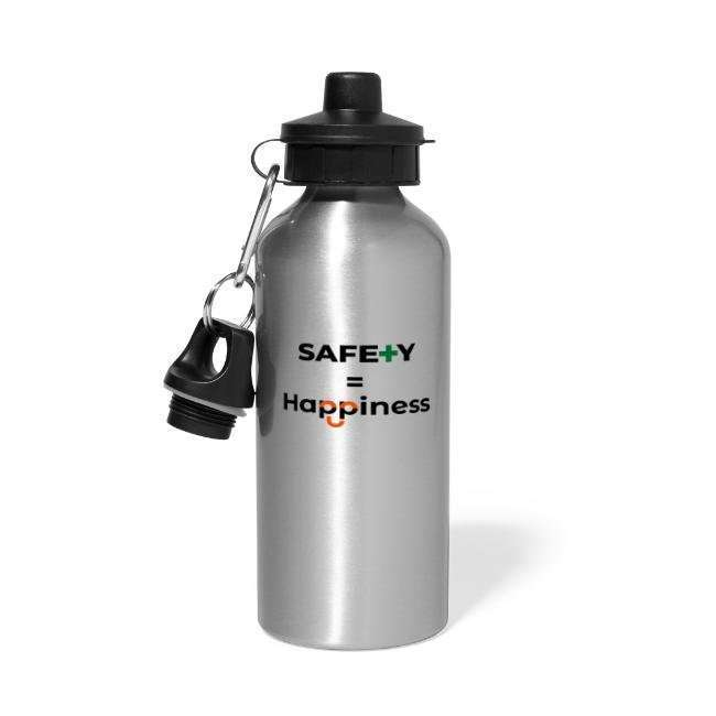 thesafetygeek.com/shop water bottle safety geek safety equals Happiness